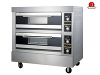Good price 2 Deck 4 Trays Electric Arabic Bread Baking Oven