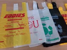 printed T-shirt packaging plastic bag shopping bag