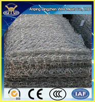 Anping factory low price galvanized welded gabion retaining wall for sale