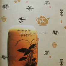 china construction material washable vinyl wall covering