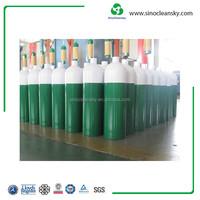 D type Aluminum High Pressure Oxygen Gas Cylinder