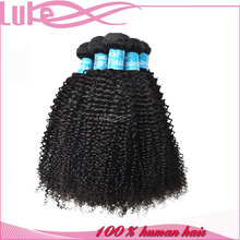 Alibaba Online Shopping Machine Weft 5A Grade Malaysian Curly Hair Weft