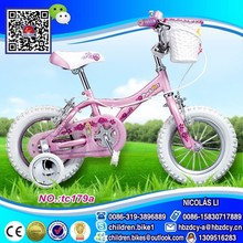 Very popular and nice style of children bicycle with white tire envirmental popular bike