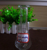 100ml sauce glass bottle with wide mouth and cork