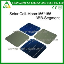 Hot sale 19.2% efficiency 4.54w mono cheap solar cell for sale