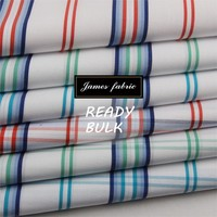 100% Cotton Spring/Summer Shirting & Dress Fabric, Cotton Stripe Check/Plaid Fabric