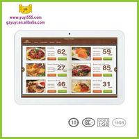 Wireless Tablet E-Menu Order System for Restaurant