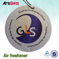 Made in china factory cheap aromatic paper air freshener