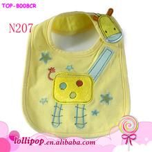 Hot Sale Multi Styles Cute Animal Cartoon Thick Cloth Baby Bibs