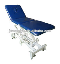 deluxe stylish high-quality beauty soft adjustable comfortable elecric massage couch facial bed / table with CE