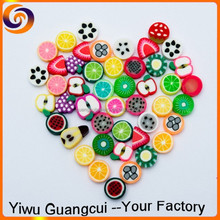 2015 polymer clay Soft pottery jewelry colorful fruit