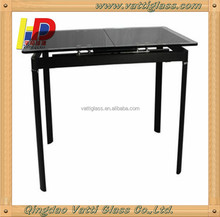 tempered glass table top,long narrow table top,glass table top