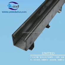 UNITED hot dipped galvanized C Channel Japan/ HDG unistrut channel Japan/Steel channel Japan