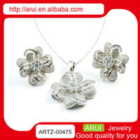 costume accesories indian bridal jewelry sets silver diamond jewelry set
