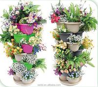 butterfli foldable flowerpot, plastic stacking shape planter