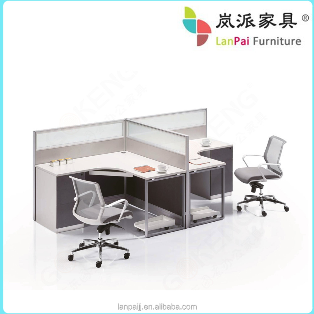 Excellent Shaped Office Desk India  Home Design Ideas