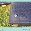 uhmwpe temporary access mat/ outdoor ground protection mats/ anti-skid and textured floor mat