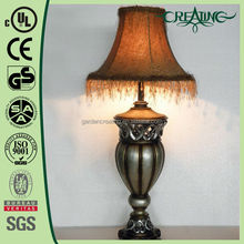 "20.5"" Antique Hollow Decorative Bedroom Lighting Desk/Table Lamp"