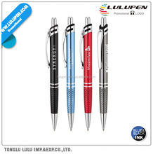 Ballpoint Promotional Pen With Diamond Etch Pattern (Lu-Q13965)