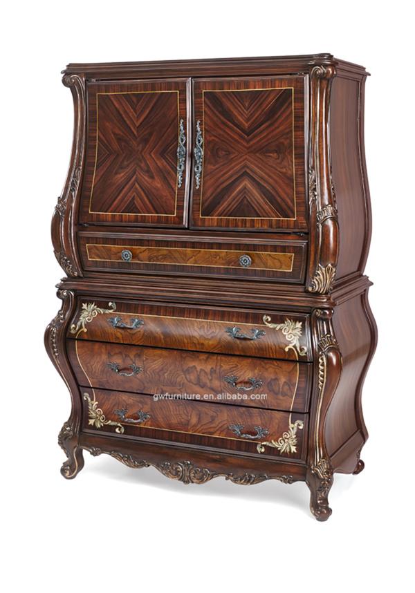 Estilo italiano hote dormitorio muebles de lujo wa155 for Muebles estilo italiano