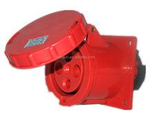 Industrial Socket Industrial plug IP67 CEE waterproof 4 holes industrial plug&socket 63A 125A Electrical plug&socket
