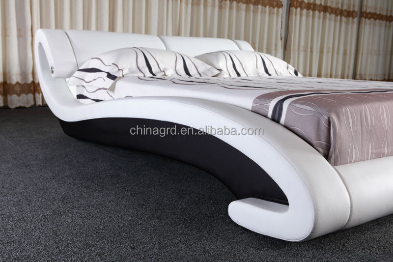 Latest Wooden Bed : 2015 Latest Design Foshan Suppliers Solid Wood Double Bed G1029 - Buy ...