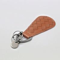 hot sale cheap price customized genuine leather keychain PU key chain PVC keyring
