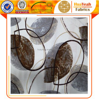 100%Polyester fabric leaf printed sofa cushion velvet