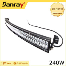 "40"" LED Light Bar 240w Light Bar for Truck Off road SUV ATV 4WD"