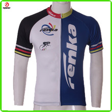 100% polyester quick dry Sublimation Adult cycling jersey cycling jersey 2012