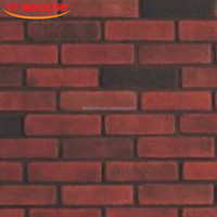 China factory low price fire resistant insulation material artificial red brick prices