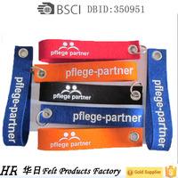 wholesale wool felt key chain with best quality printing keychain