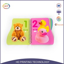 high quality cardboard thick hard cover book printing