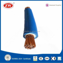 low voltage double insulated flexible rubber welding cable for Welding Machine