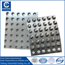roof drainage system HDPE Dimple Drainage Board Waterproofing System
