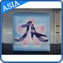 Large Inflatable advertising helium balloon for sale/square balloon/cube model