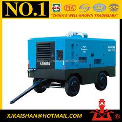 KAISER 460cfm diesel Power portable air compressor for mining