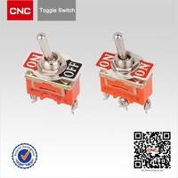 China Brand AC 250V 10 A e-ten toggle switch
