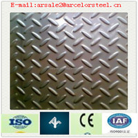 HOT SALE & COLOR COATED diamond embossed aluminum roofing sheet/Plate