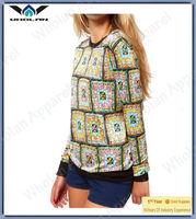 new design Fashion Ladys Chiffon blouses