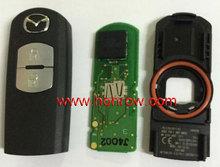 High Quality Mazda 2 button keyless remote key with 433mhz Intelligent remote control