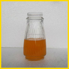 8 oz glass juice bottle