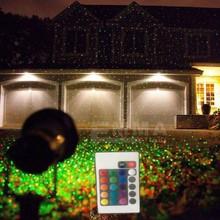 Wholesale outdoor IP65 water proof Laser light,elf Christmas lights outdoor laser projector,red green light projector