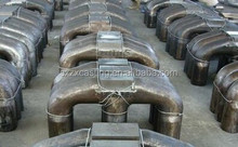OEM cast steel anode yoke/sow mold/dross pan made in alibaba china foundry for aluminum recycling