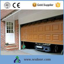 Sectional Raised side opening garage doors
