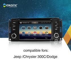 Iokone Car DVD Player / Car radio / car multimedia / car stereo with GPS Bluetooth For Chrysler Jeep 300C Dodge car dvd player