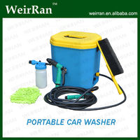 (52025) 16L Self Service Protable Plastic Battery Electric Powered Mobile Car Wash