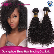 Wholesale price 6A afro style virgin quality brazilian curly hair