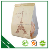 portable take out bread bag,fried chicken bag