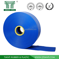 Factory Direct Best PVC Agricultural Water Discharge Pipe Hose with Cloth Woving Packaging